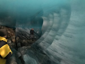 The ice cave on our scout