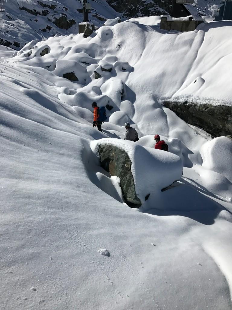 The glacier hike path 2