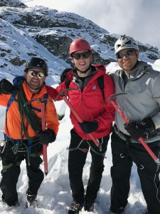 Guillaume, Brad and Joel